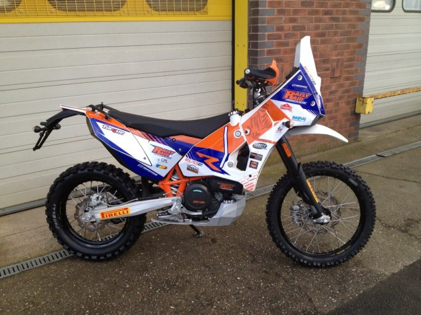 KTM 690 Rally Raid EVO2 conversion